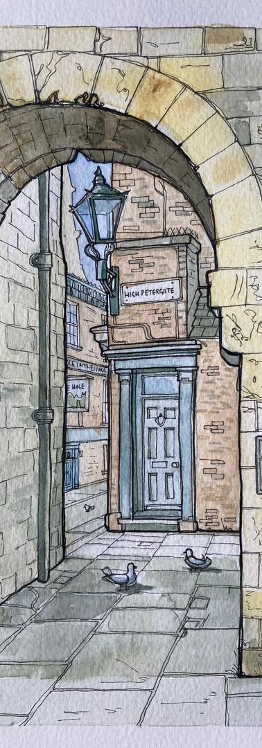 8.Bootham Bar Doorway.York