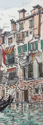 Rio del la feste Venice