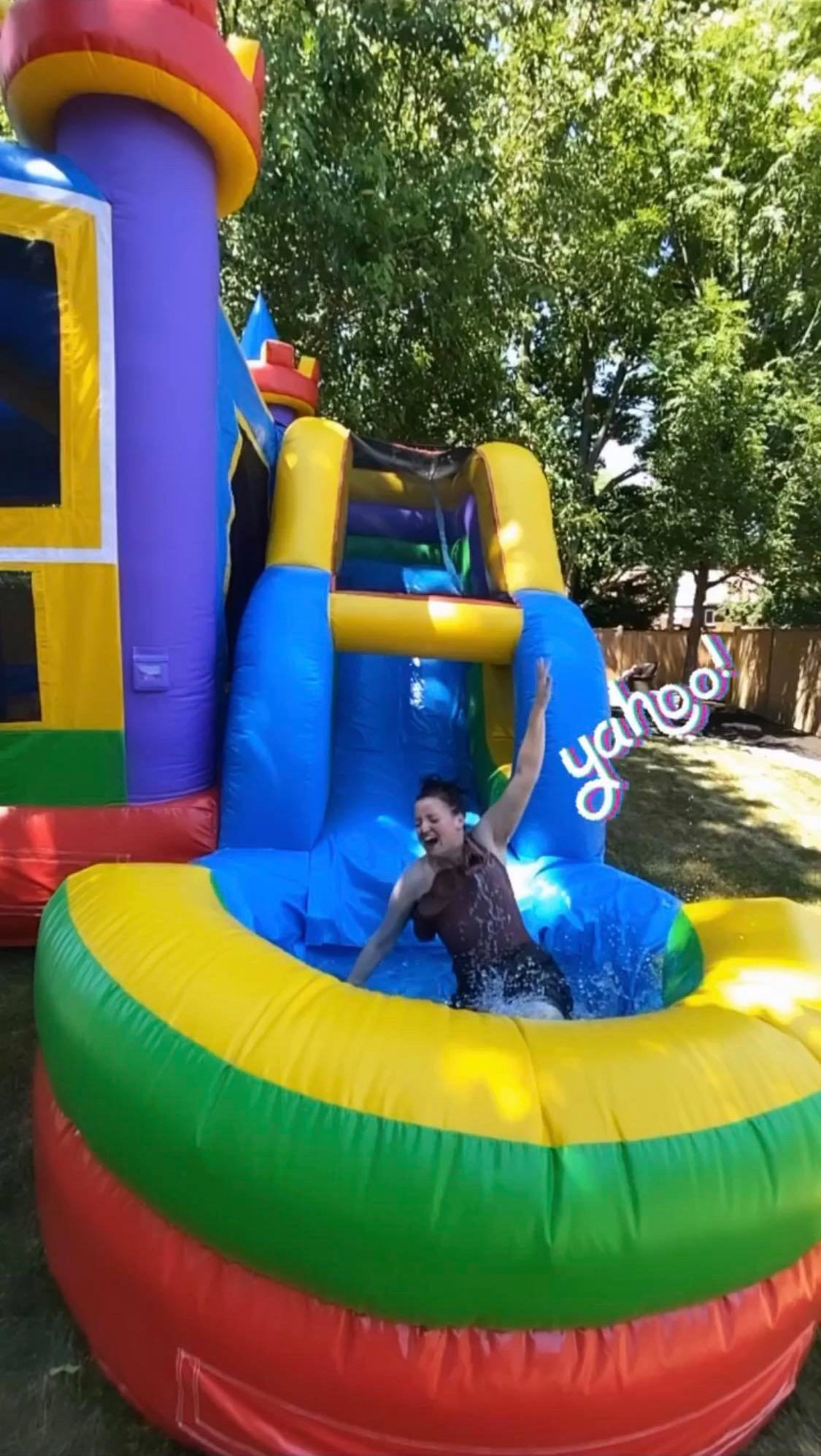wet & dry bounce castle
