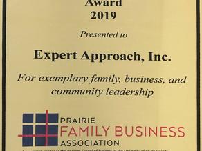 2019 Prairie Family Business Award