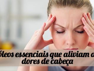 4 óleos essenciais que aliviam as dores de cabeça