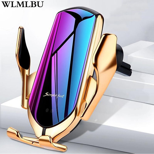 Car Wireless Charger For iPhone Xs Huawei LG  Qi Wireless Car Phone Holder