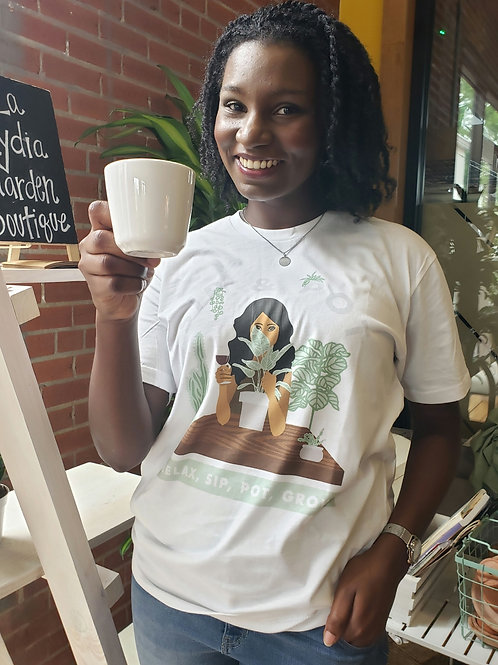 Sip & Pot T - Shirt
