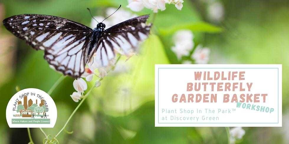 Wildlife Butterfly Garden Basket