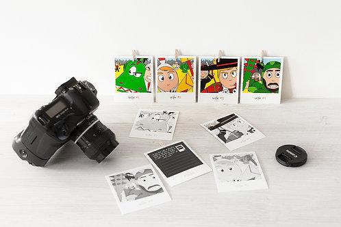 Stickers repositionnables - Selfie de Ducasse