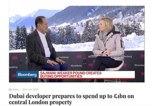 Dubai Developer prepares to spend £1bn on London Property