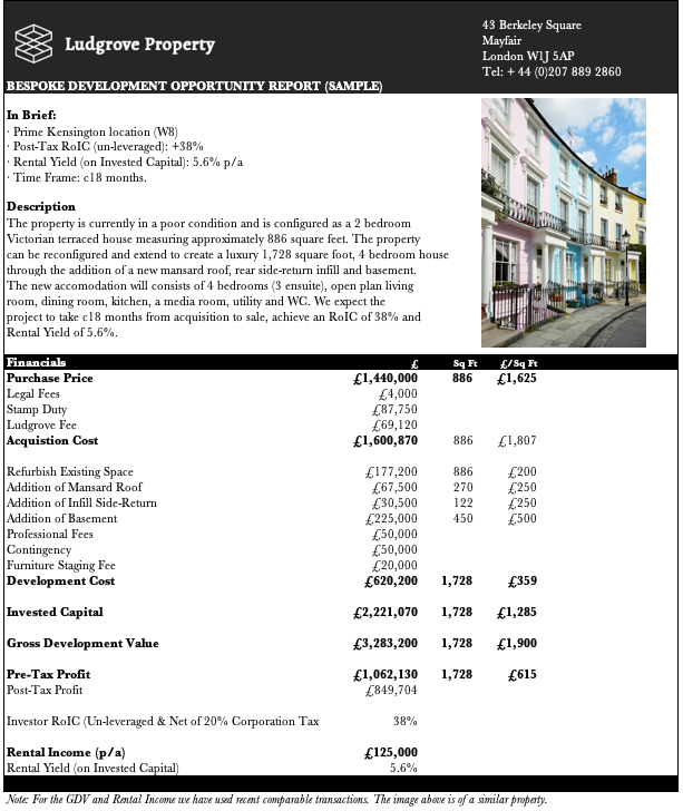 Property Development Opportunities Prime London