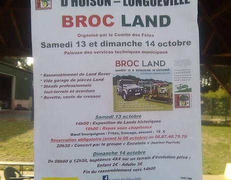 Affiche de la Broc Land 2018