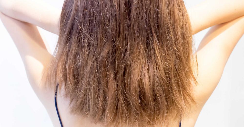 الشعر الجاف و التالف