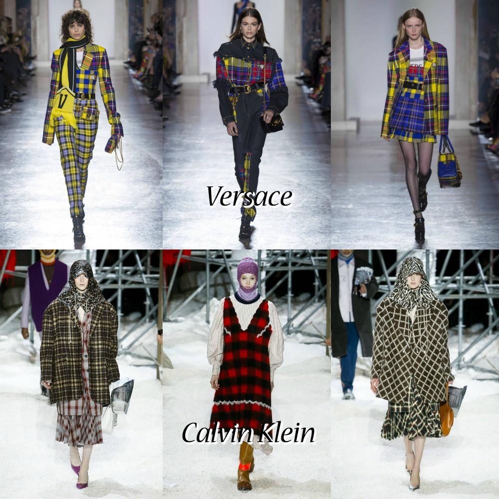 versace and Calvin Klein
