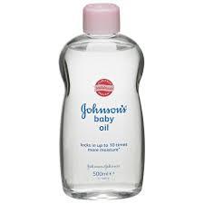 زيت جونسون لتنظيف الوجه