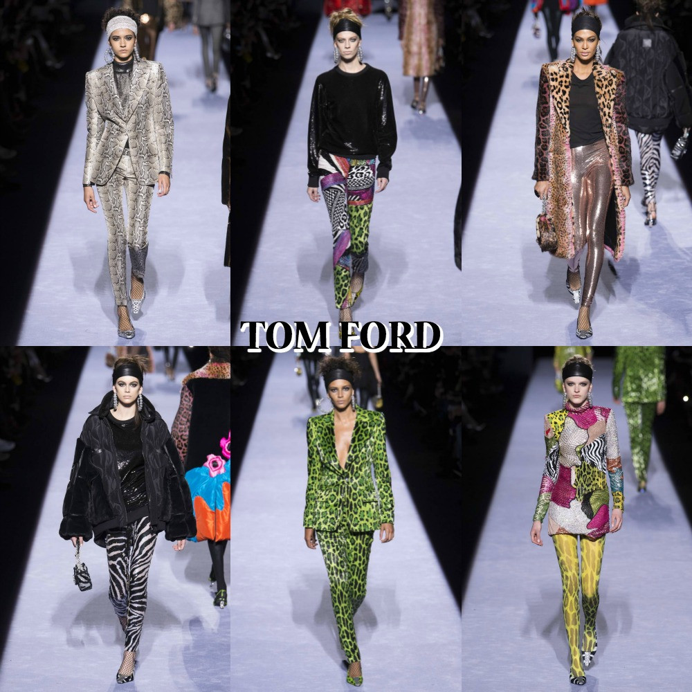 tom ford autumn winter collection 2018