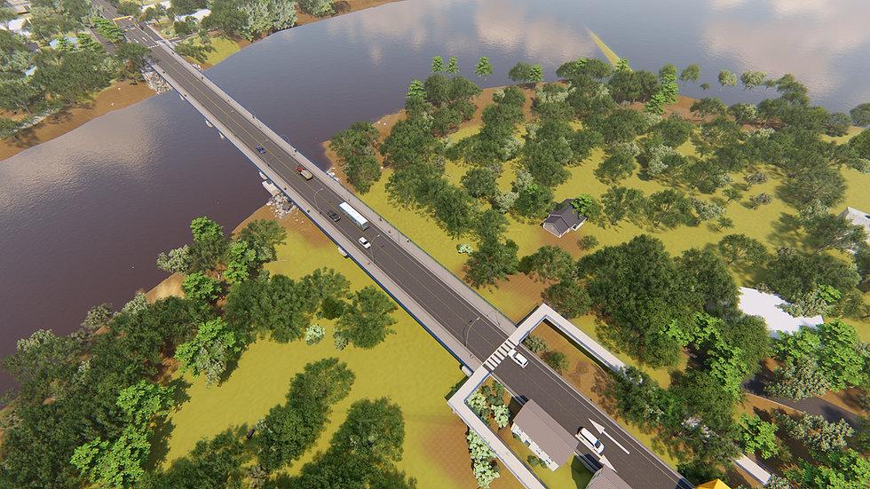 Render Puente Binacional Sixaola