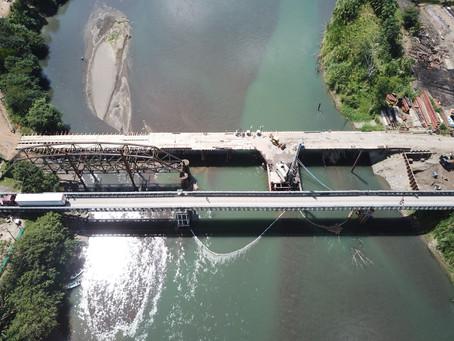 Coordinadores de Naciones Unidas visitan Puente Binacional Sixaola