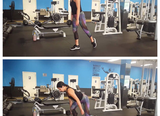 Workout of the Day: Ipsilateral Curtsy Single Leg Deadlift