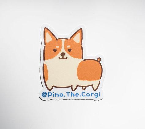 Alpaca Pino Sticker