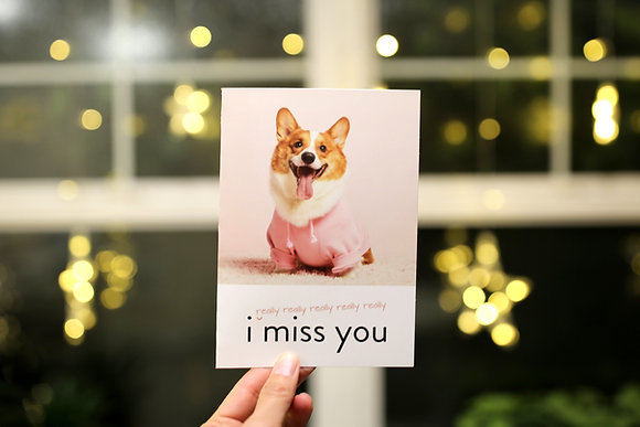 Pino Post Card - I miss you!