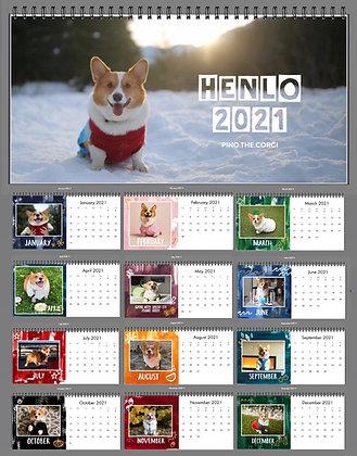 Pino Desk Calendar 2021