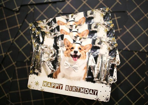 Pino Post Card - Happy Birthday!