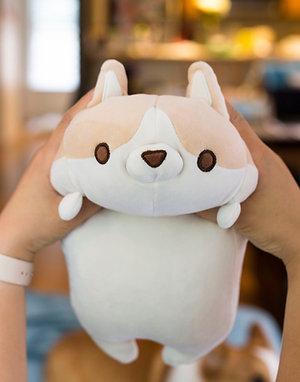 Squeezable Corgi Stuffed Toy