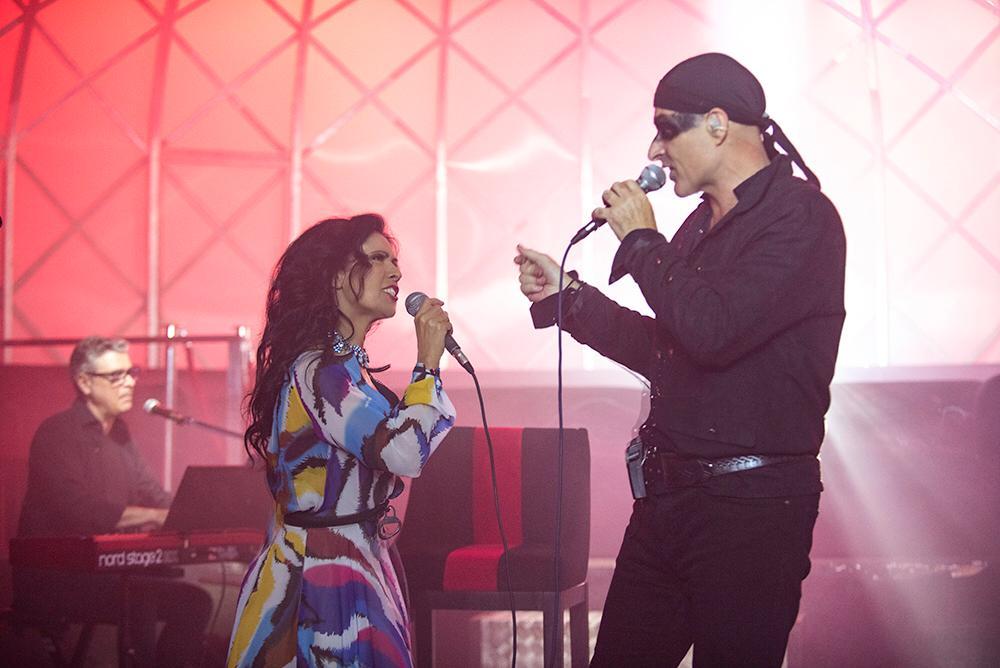 Con Cristina en la presentacion del single
