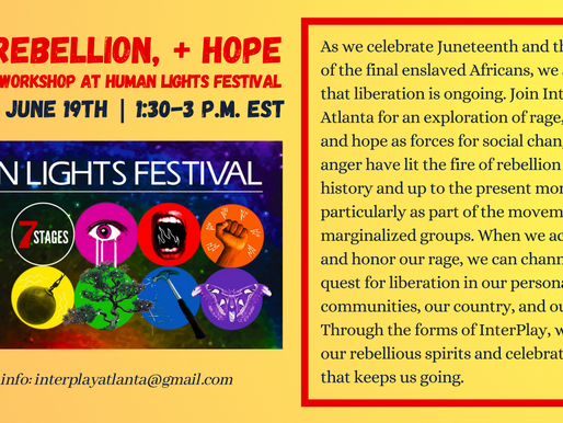 Rage, Rebellion, and Hope: InterPlay Atlanta at 7 Stages' Human Lights Festival