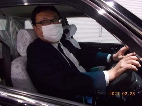 ハローワーク大阪西付近での御縁で、入社された夜勤で頑張っている乗務員さん
