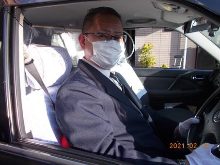 タクシー未経験ながら入社1年で営業成績が常にBEST3以内で頑張っている乗務員さん