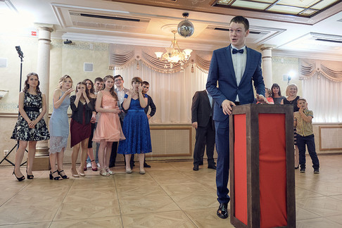 Съемка выпускных вечеров в Кирове