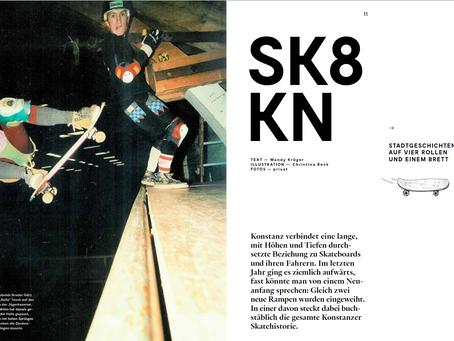 SK8KN. Stadtgeschichte auf vier Rollen und einem Brett