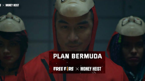 Money Heist x Free Fire - GArena
