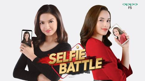 Oppo F5 - Selfie Battle