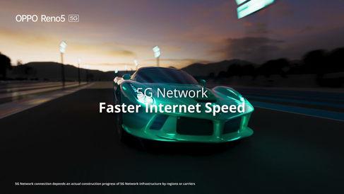 Oppo 5G - Sport Car