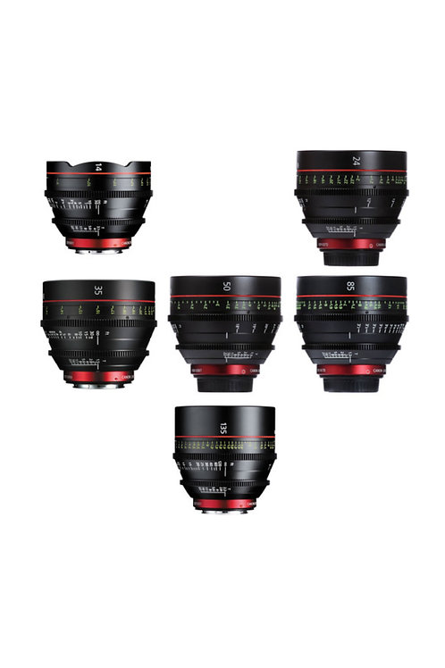 Canon EF CN Cinema Prime Lens