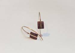 18K & 10K gold earrings