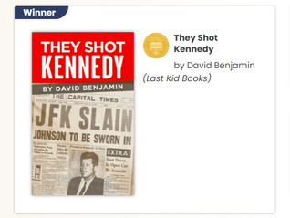 Alum David Benjamin's They Shot Kennedy Among Winners at 31st Annual Midwest Book Awards