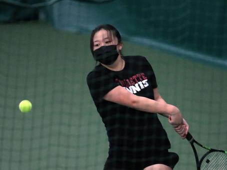 La Follette freshman Annalise Yang earns WIAA girls tennis singles title