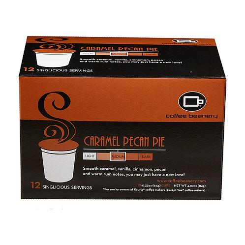 Caramel Pecan Pie Singlicious® Servings
