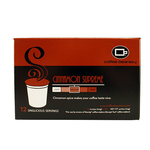 Cinnamon Supreme Singlicious® Servings