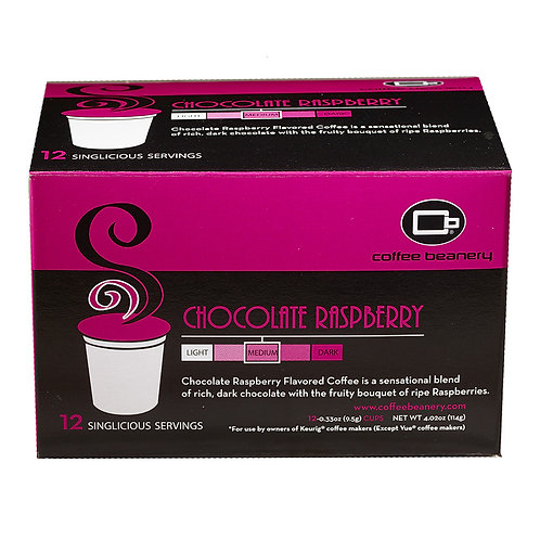 Chocolate Raspberry Singlicious® Servings