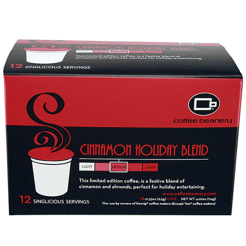Cinnamon Holiday Blend Singlicious® Servings