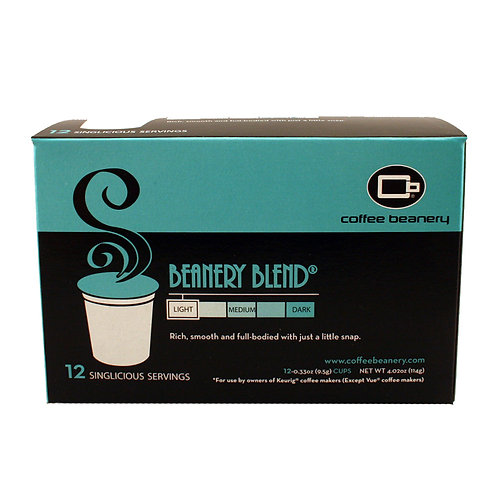 Beanery Blend® Singlicious® Servings