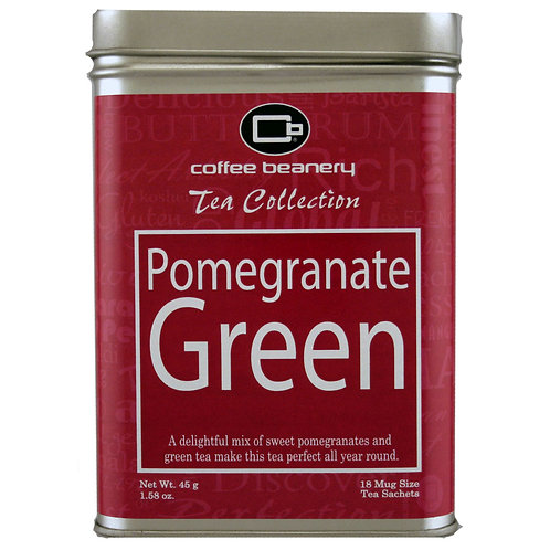 Coffee Beanery Pomegranate Green Tea
