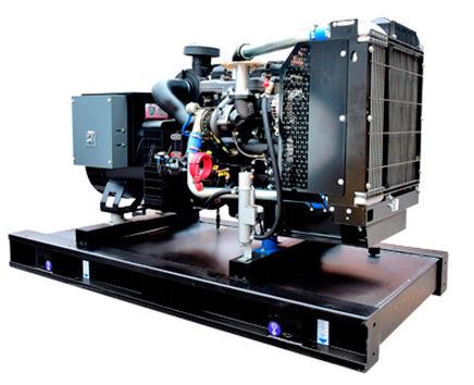 Generador electrico diesel montado en un base tanque de combustible