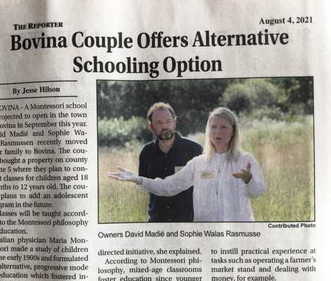 We're in the Local News!