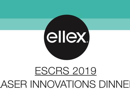 Анонс! ELLEX Laser Innovation Dinner @ESCRS