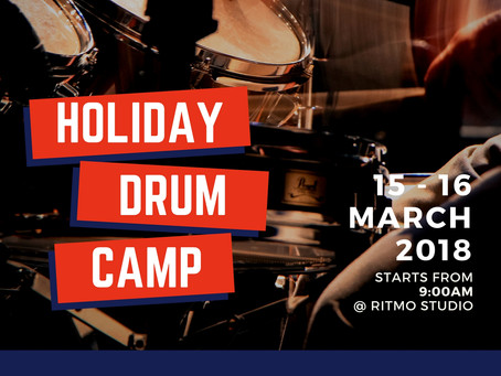 Happening in March 2018: Holiday Drum Camp