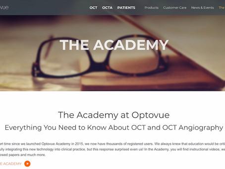 Онлайн академія з ОКТ від Optovue