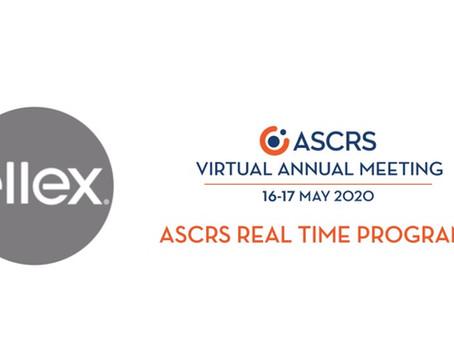 Ellex на віртуальній зустрічі ASCRS 2020: приєднуйтесь 16-17 травня !