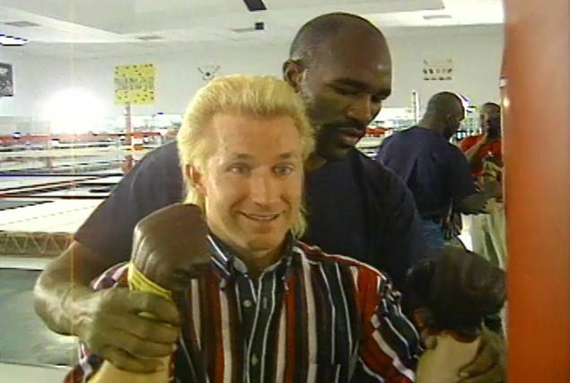 Evander Hollyfield - Undisputed Heavyweight Champion of the World, 1990-1994